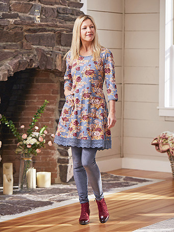 Rose Manor Short Dress