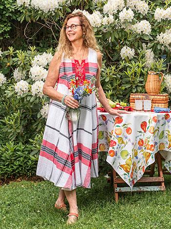 Summer Plaid Dress