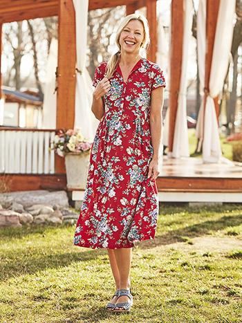 Fairground Rose Dress