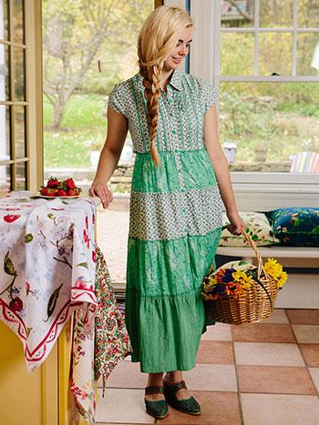 Maggie Patchwork Dress