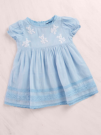 Blue Ribbon Baby Dress