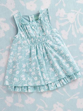 Daisy Toss Baby Dress