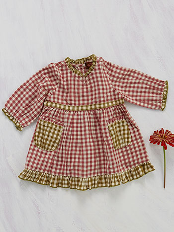 Carolina Check Baby Dress