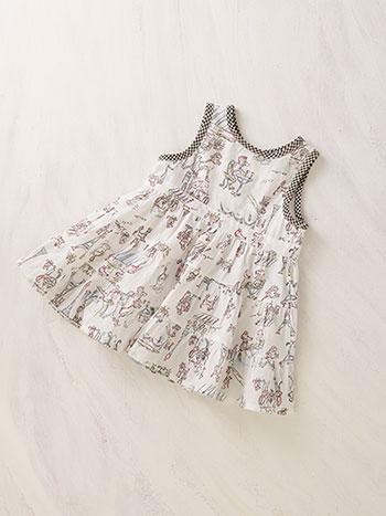Poodle in Paris Baby Dress