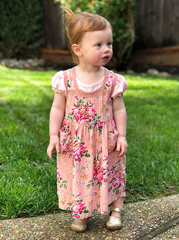 Viola Rose Baby Dress