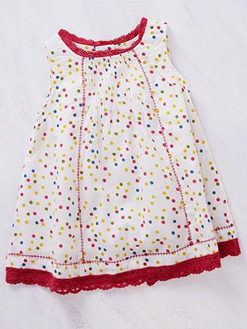 Confetti Dots Baby Dress