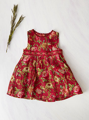 Virginia Baby Pinafore Dress