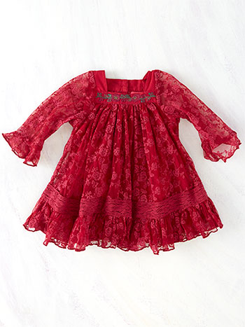Sugarplum Baby Dress