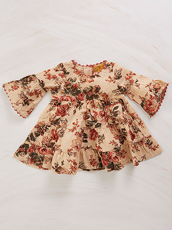 Victorian Rose Baby Dress