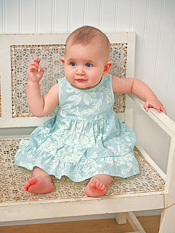 Aquamarine Baby Dress