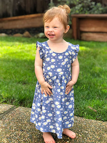Daisy Baby Dress
