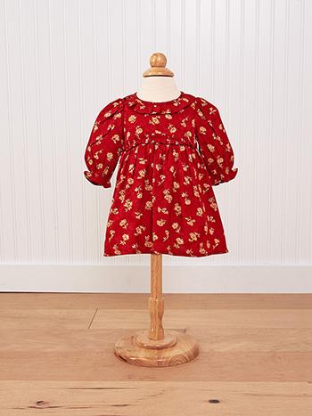 Ruby Jacquard Baby Dress
