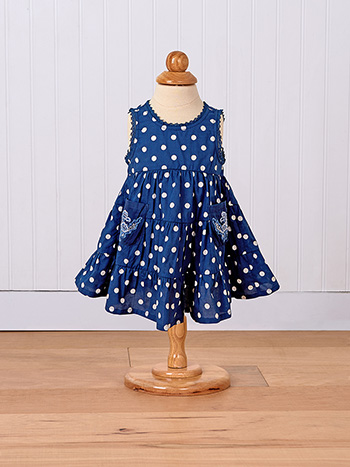 Betty Dots Baby Dress
