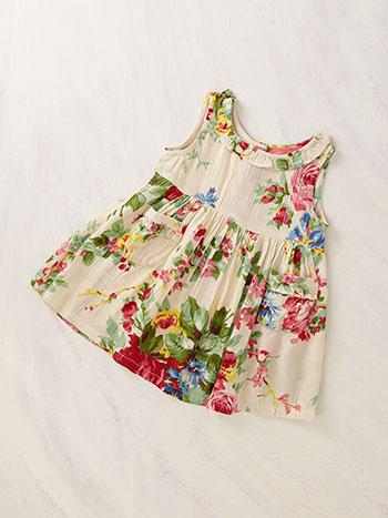 Cottage Rose Baby Dress