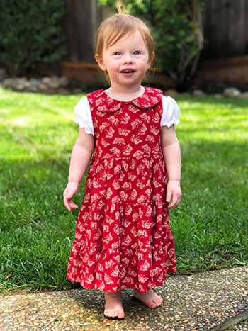 Papillion Baby Dress