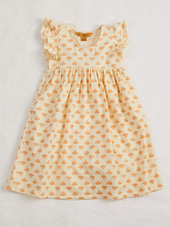 Sunflower Baby Dress