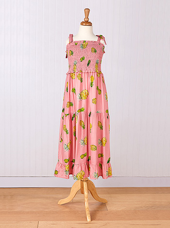 Pineapple Young Lady Dress
