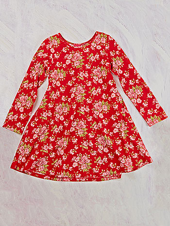 Carnation Jersey Young Lady Dress