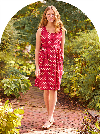 Molly Dot Young Lady Cambric Dress