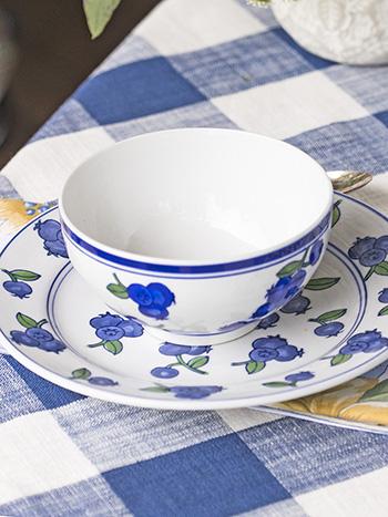 Blueberry Bowl Set of 4