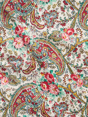 Garden Paisley Fabric by the Yard