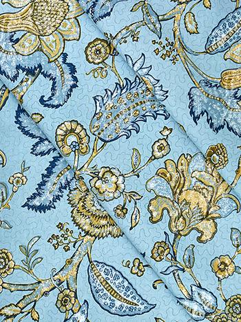 Jacobean Garden Fabric by the Yard
