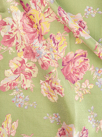 Victorian Rose Outdoor Fabric by the Yard