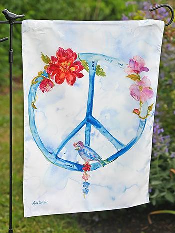 Peace Garden Flag