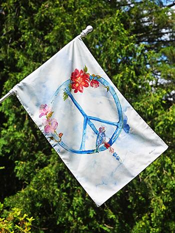 Peace House Flag