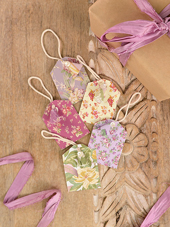 Vintage Charm Gift Tags Set of 5