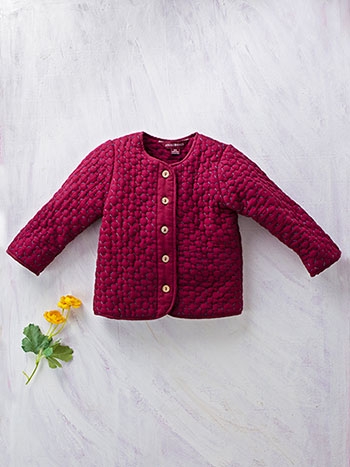 Jo Quilted Girls Jacket