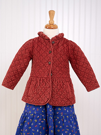 Lexie Quilted Girls Jacket