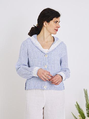 Cape Cod Linen Jacket