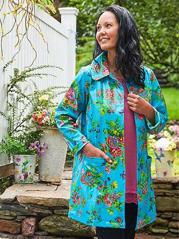 Artist Garden Rain Jacket