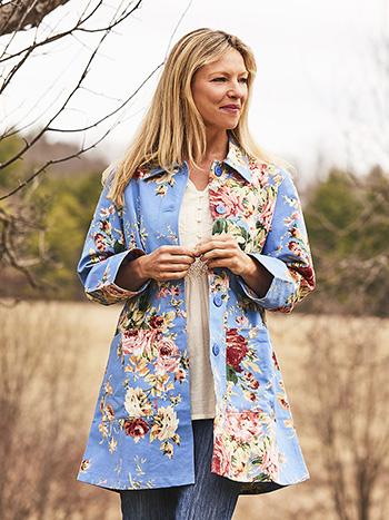 Cottage Rose Garden Jacket