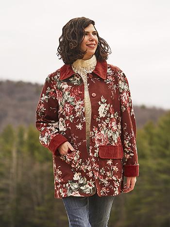 Woodland Rose Garden Jacket