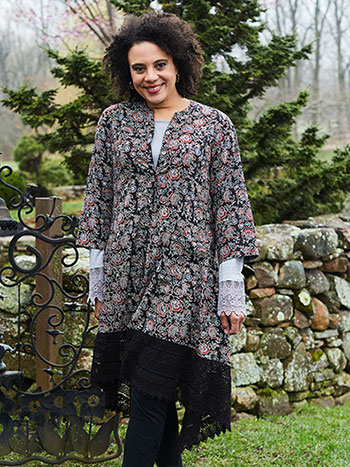Jaipuri Rose Jacket