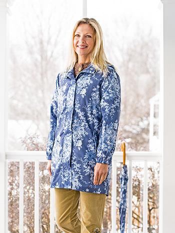 Cottage Rose Packable Jacket