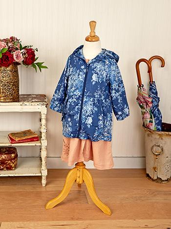 Cottage Rose Kids Packable Jacket