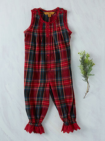 Carole Plaid Girls Camaloon