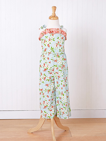 Springtime Girls Jumpsuit