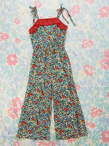 Bonnie Blooms Girls Jumpsuit