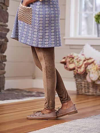 Fawn Velvet Legging