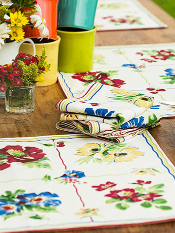 Poppy Patch Placemat Set of 4