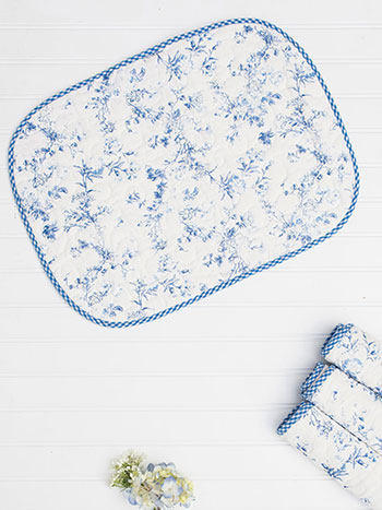 Annalouise Quilted Placemat Set of 4