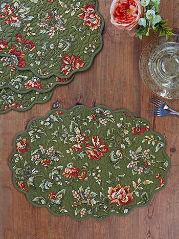 Concerto Quilted Mat Set of 4