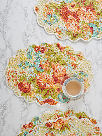 Marion Quilted Placemat Set of 4