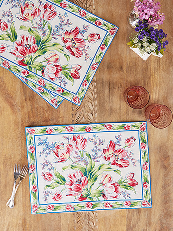 Tulip Dance Placemats Set of 4