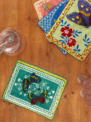 Mariposa Velvet Placemat Set of 4