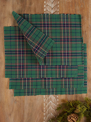 Balsam Plaid Placemat Set of 4